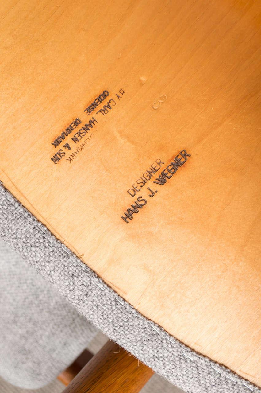 Hans J Wegner Sawbuck Chairs CH29 9