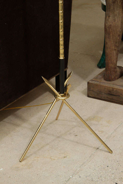 A French Floor lamp in the neoclassical style.Nicely scaled and a fantastic design