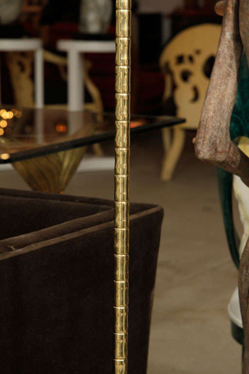 Mid-20th Century French Floor Lamp For Sale