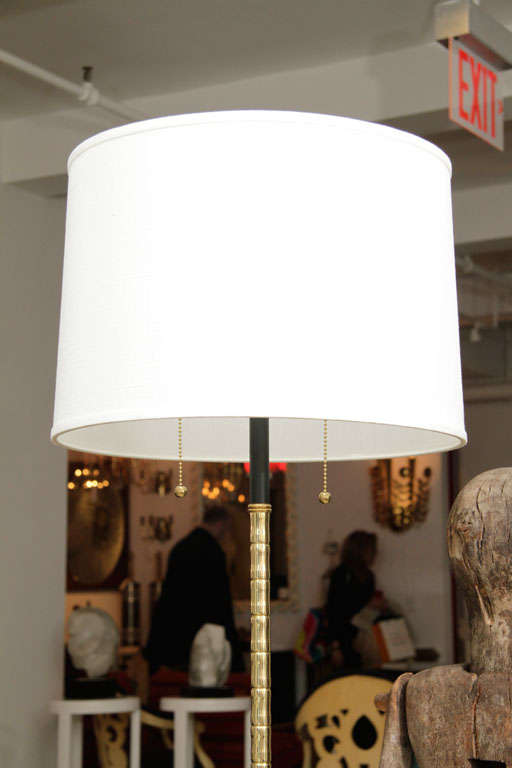 Brass French Floor Lamp