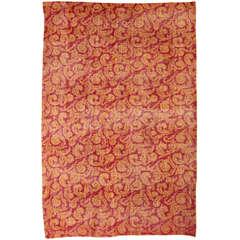 Vintage Turkish Carpet by Zeki Muren