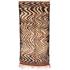 Abstract Berber Rug