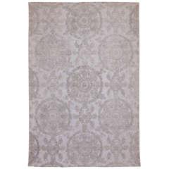 Russian Antik Denim Rug by Michaela Schluypen for Floor to Heaven