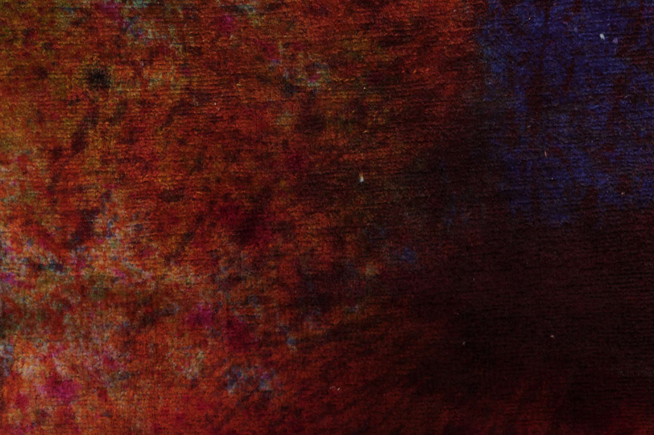 'Splash' Overdyed Turkish Carpet 4