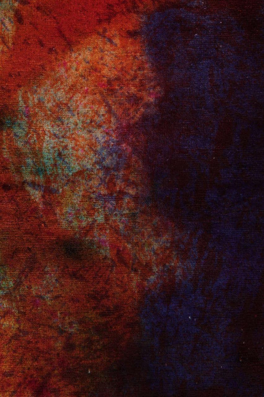 'Splash' Overdyed Turkish Carpet 5