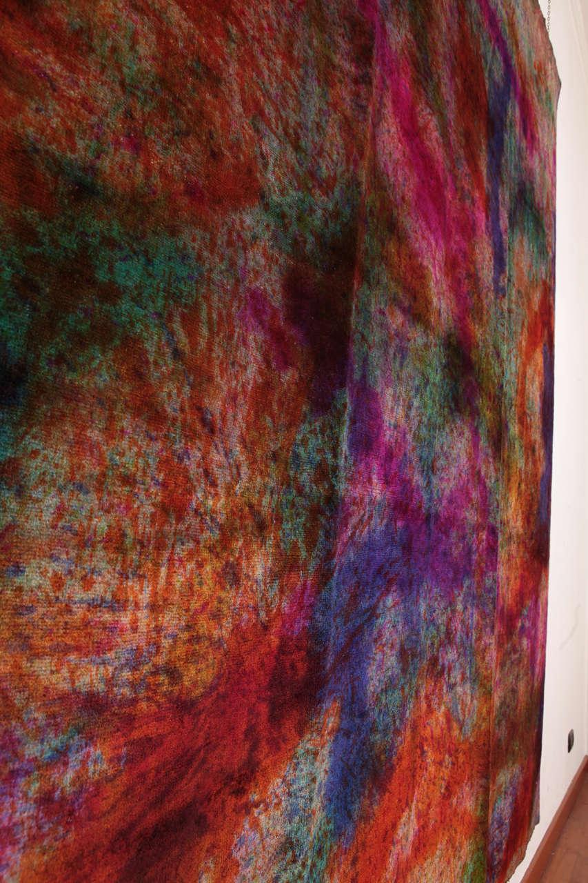 'Splash' Overdyed Turkish Carpet 8