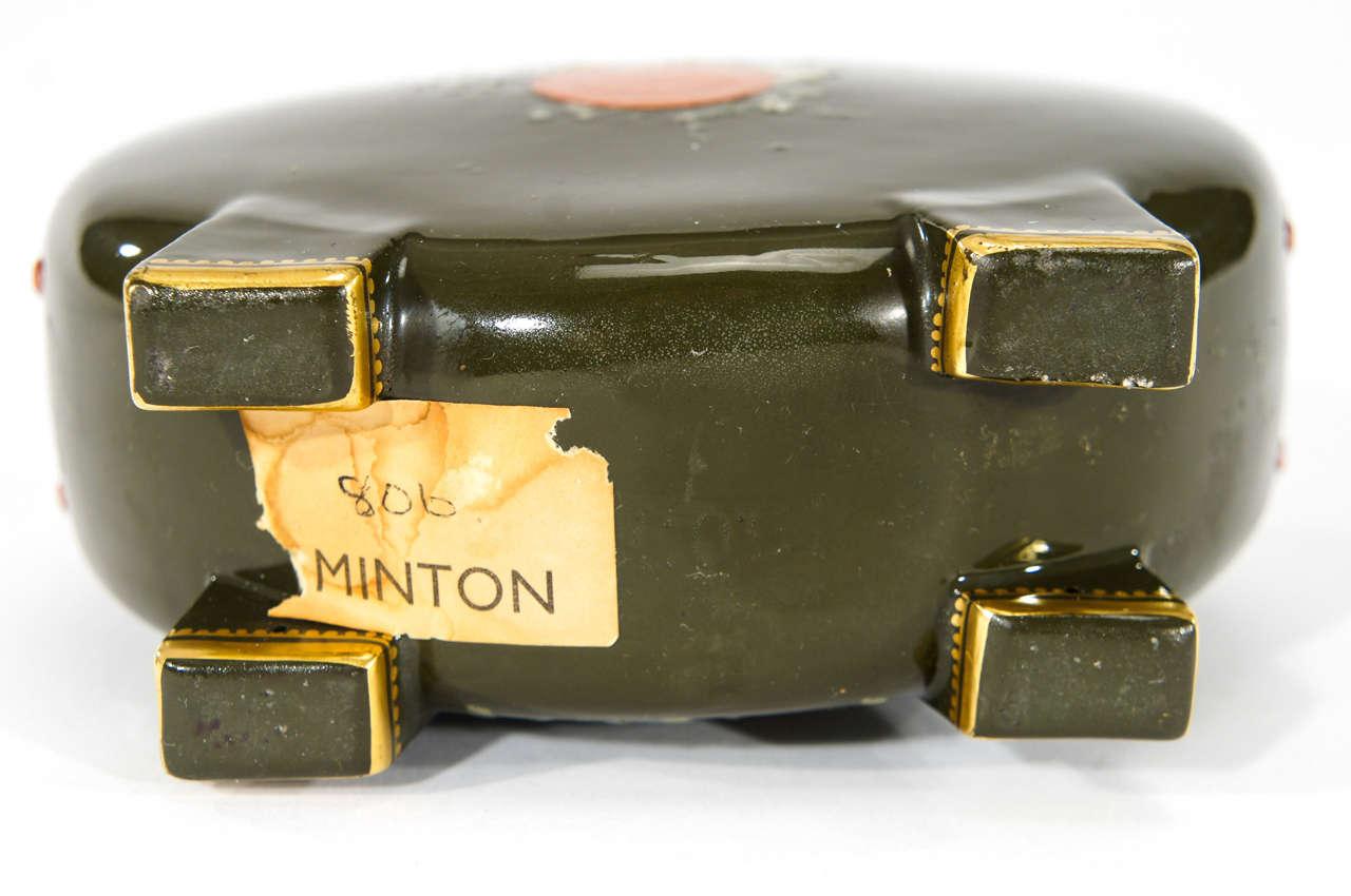 Pair of Minton Pate sur Pate Vases, signed Birks image 8