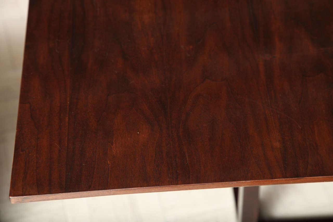 Lucca & Co, Made to Order, Walnut Dining Table For Sale 2