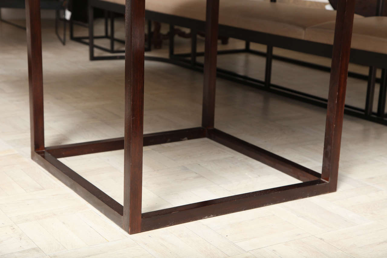 Lucca & Co, Made to Order, Walnut Dining Table For Sale 3