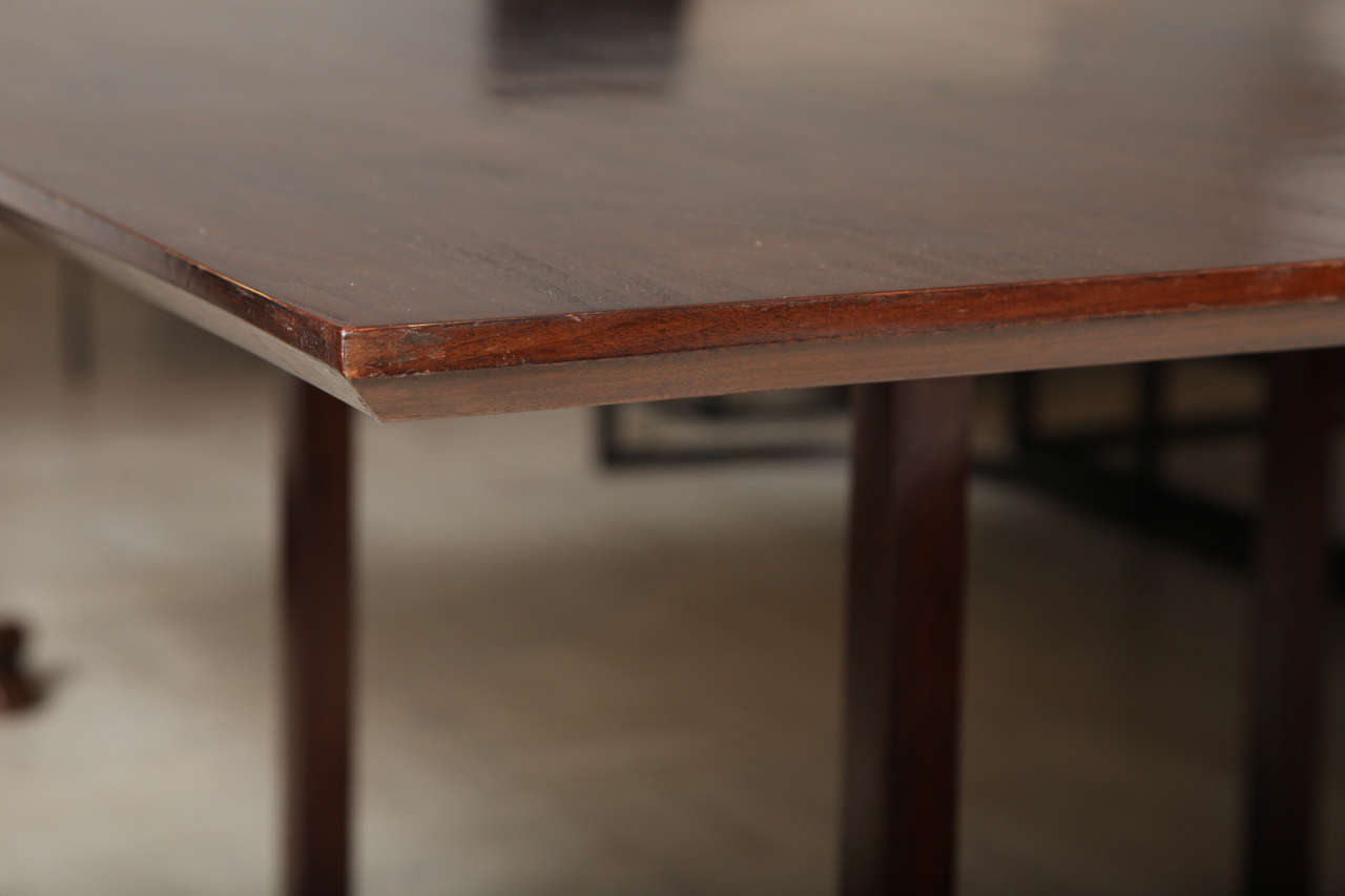 Lucca & Co, Made to Order, Walnut Dining Table For Sale 4