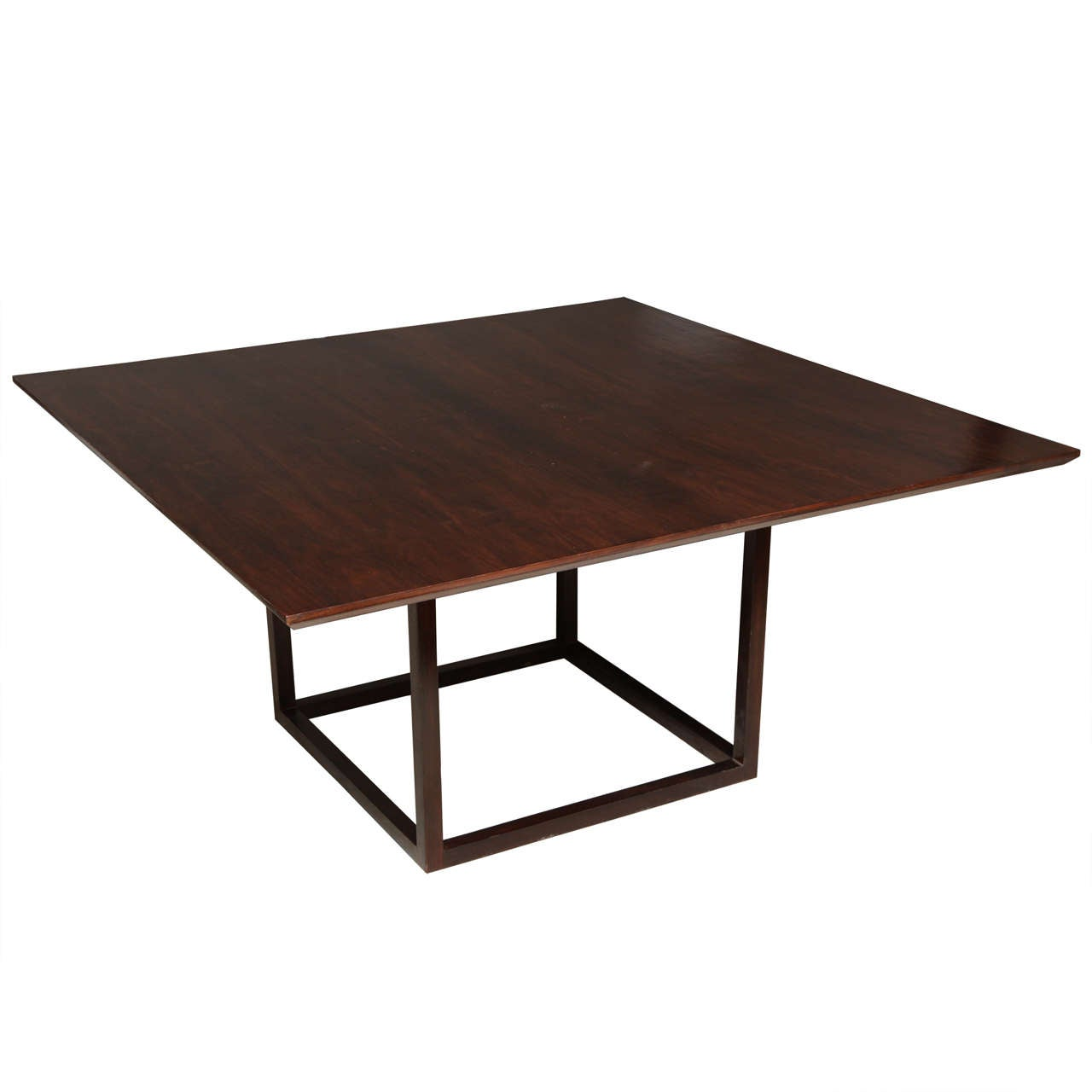 Lucca & Co, Made to Order, Walnut Dining Table For Sale
