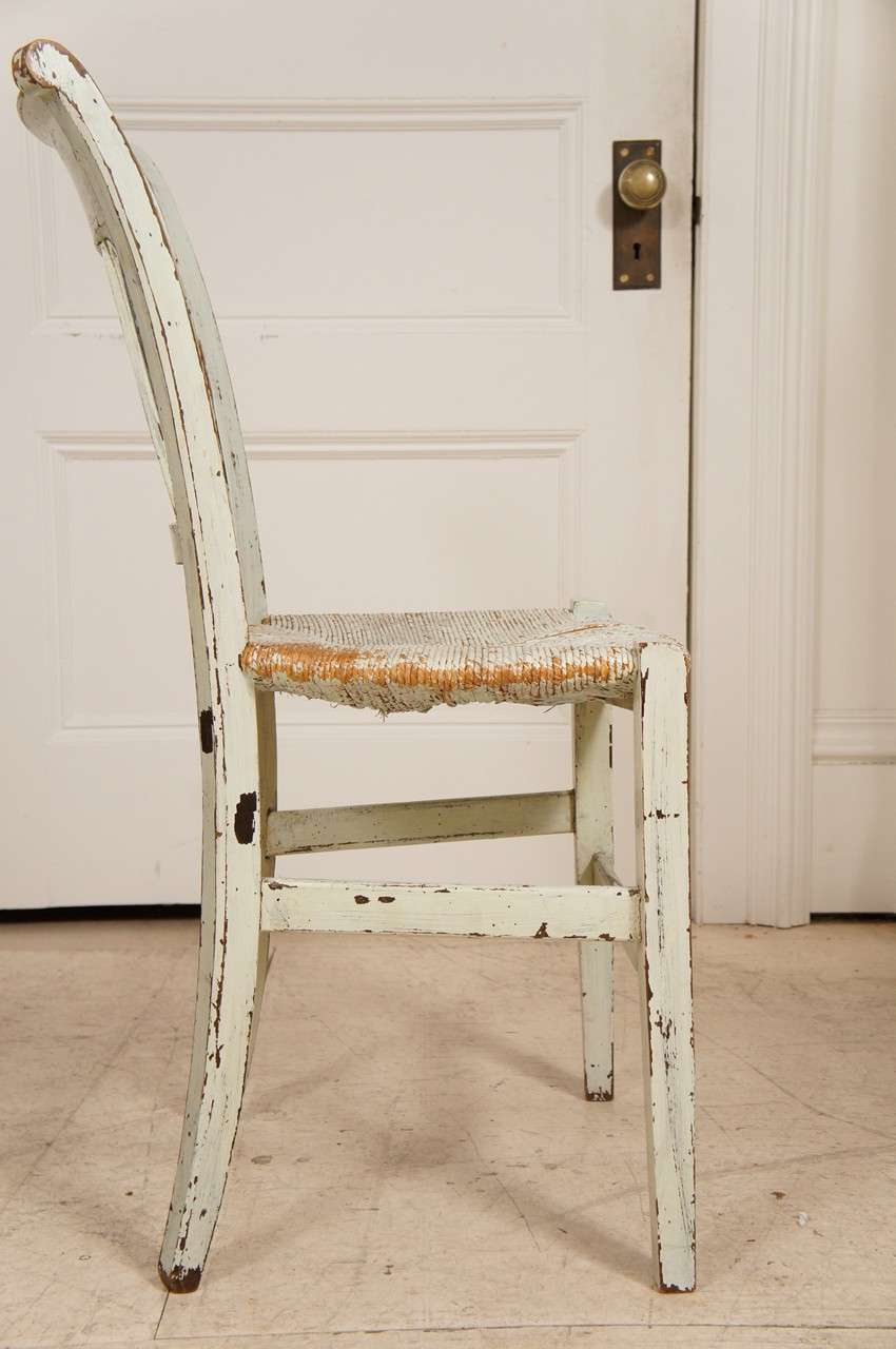 french provincial green painted dining room chairs at 1stdibs