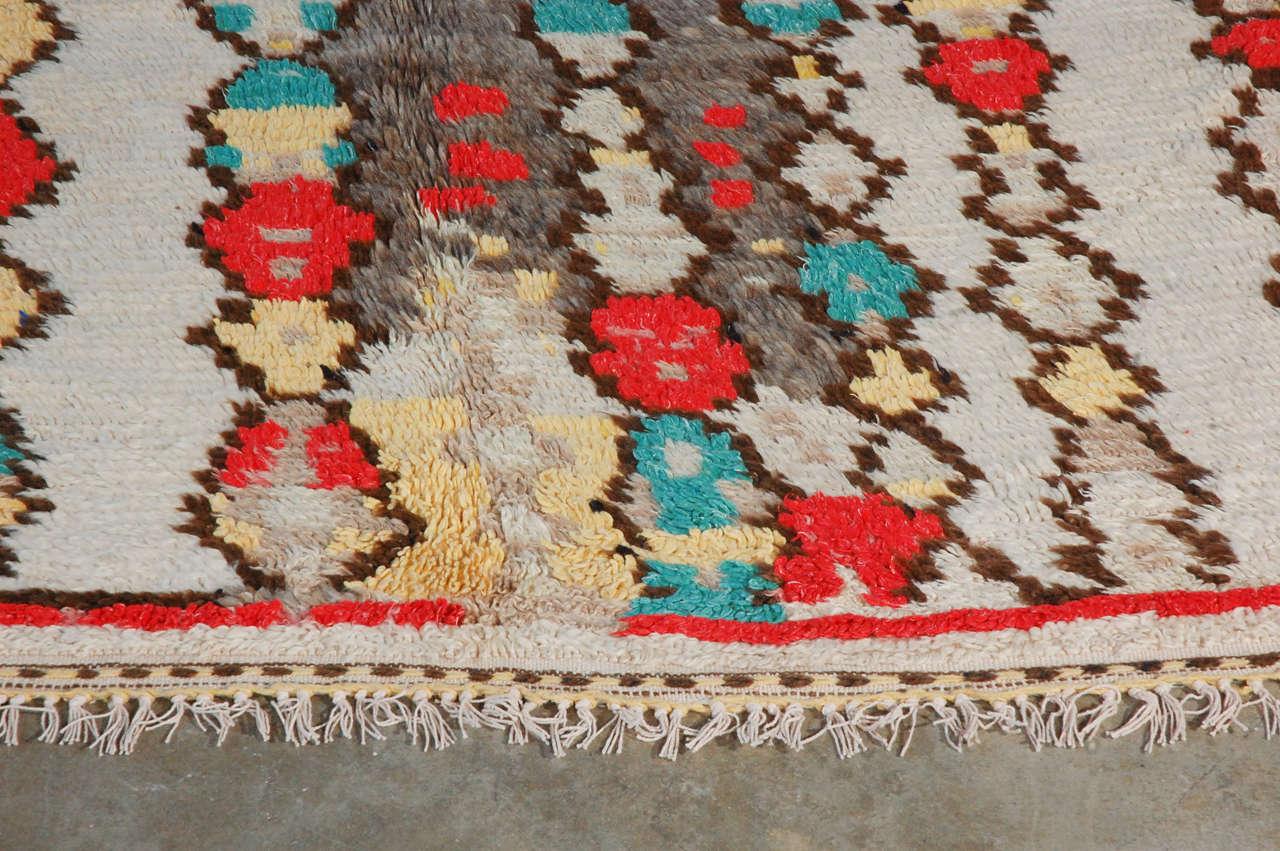 Vintage Moroccan Rug 4