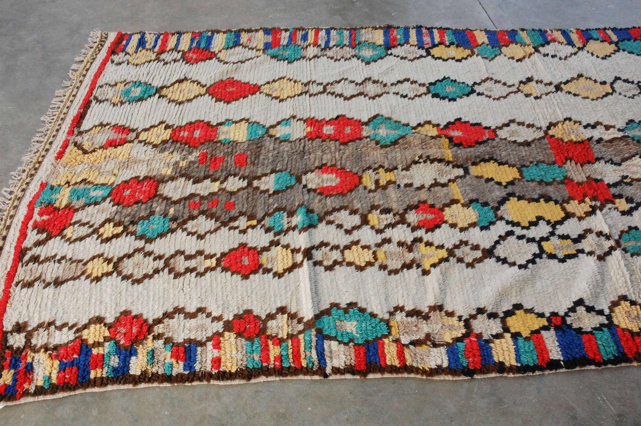Vintage Moroccan Rug 6