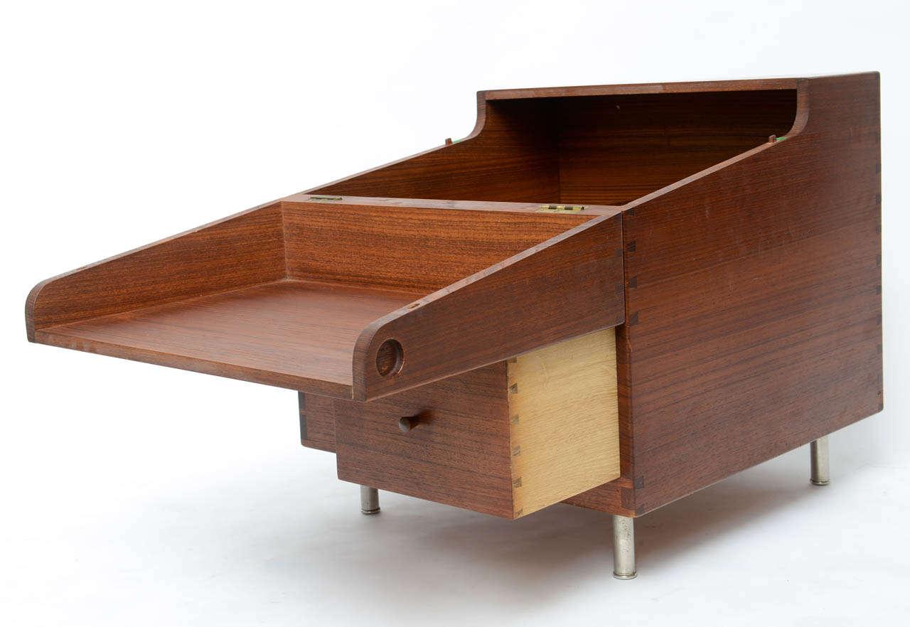 Hans Wegner Cube Bar For Sale 2