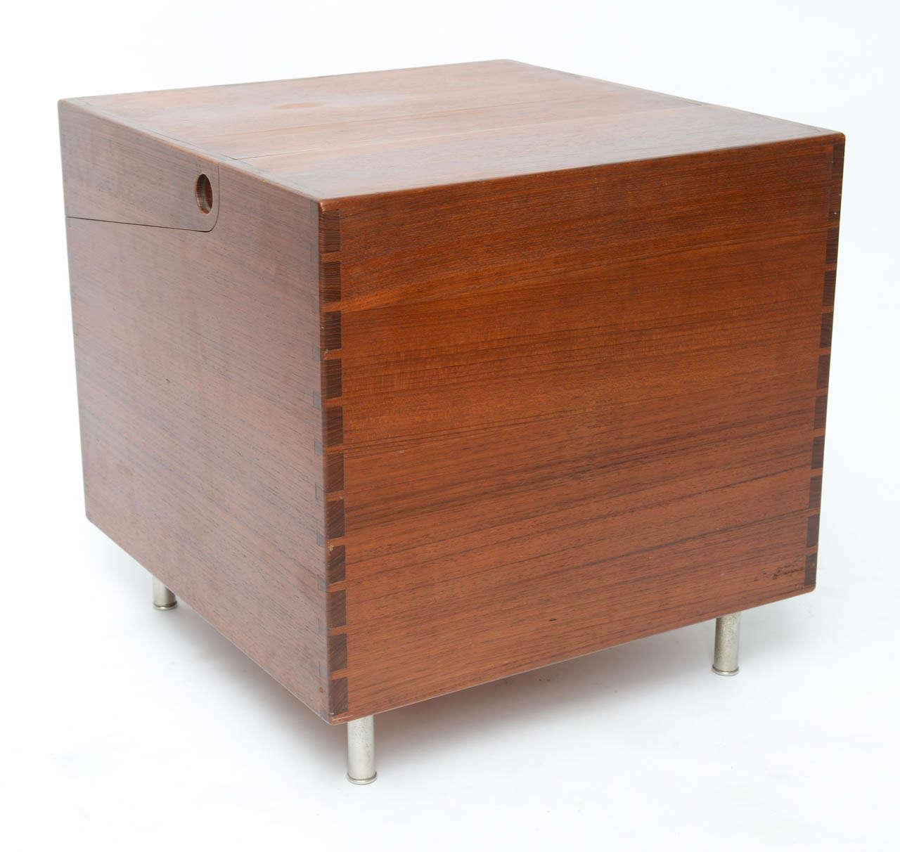 Hans Wegner Cube Bar For Sale 3