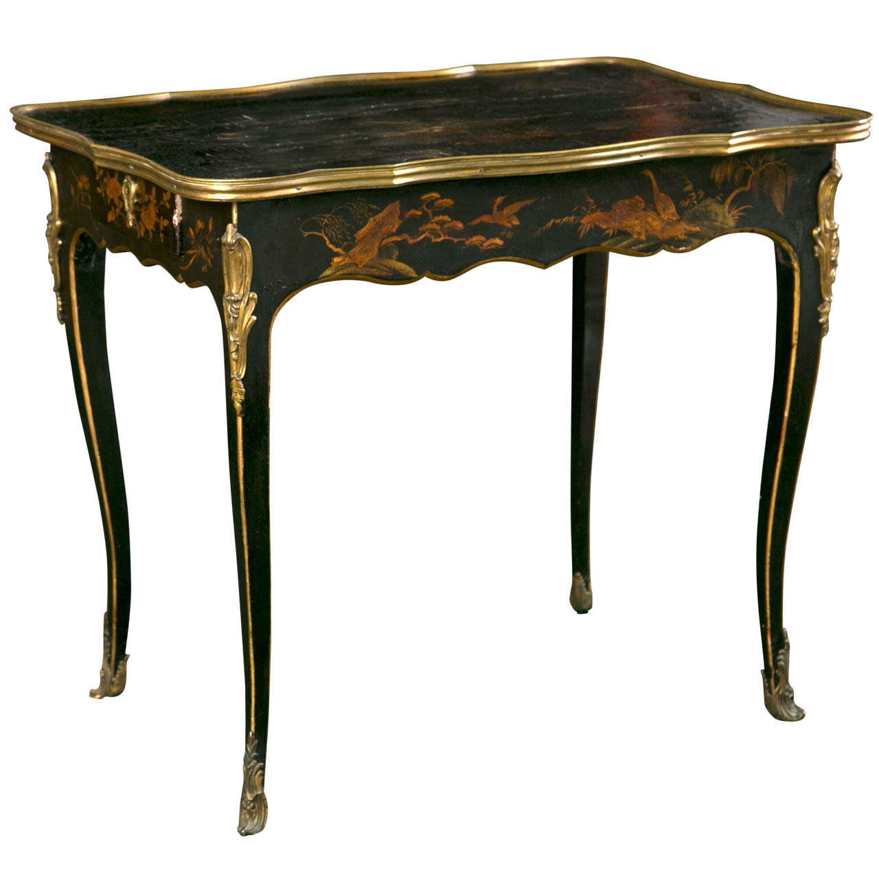 Louis xv petit bureau plat at 1stdibs for Bureau louis xv
