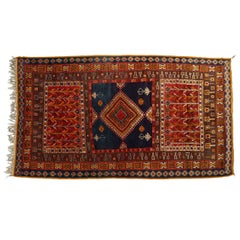 Moroccan Vintage Tribal African Rug