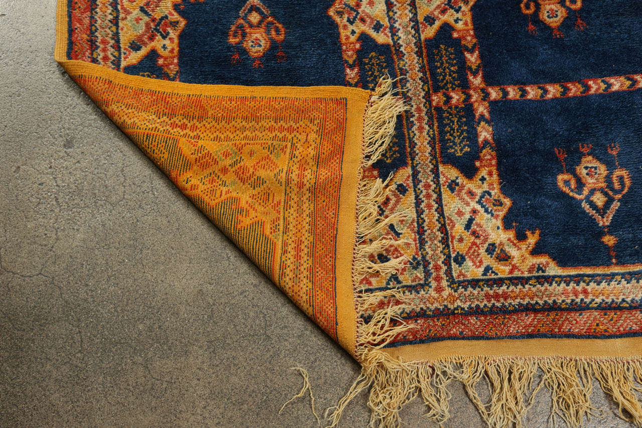 Vintage Moroccan Tribal Rug For Sale At 1stdibs
