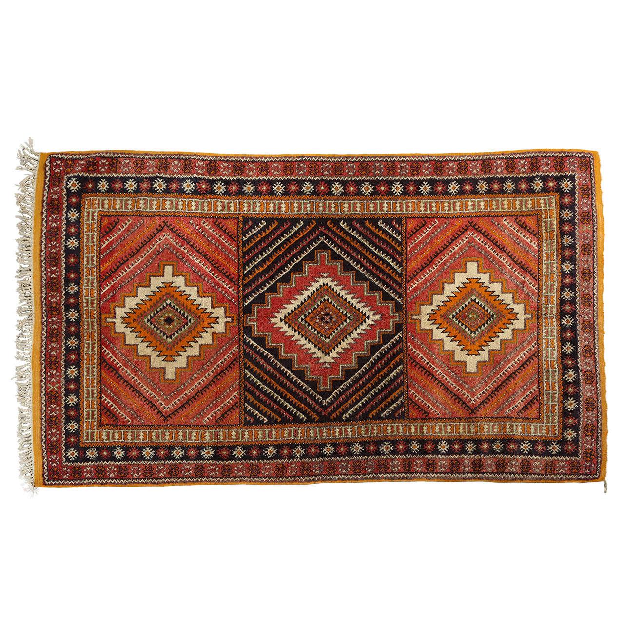 Moroccan Tribal Rug At 1stdibs