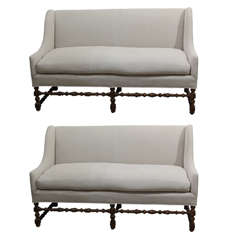 Pair of Parisian Settees