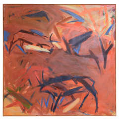 Danish Abstract Composition by Inge Reusch. 86