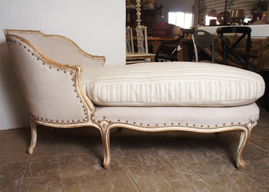 louis xv style chaise at 1stdibs