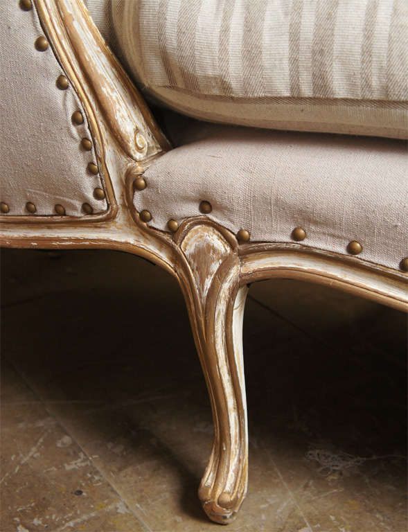 Louis xv style chaise at 1stdibs for Chaises louis xv cannees