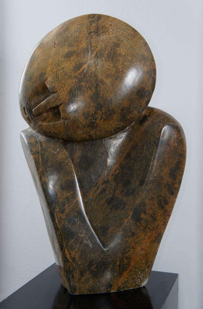 Zimbabwe shona stone sculpture by michael chiwandire at