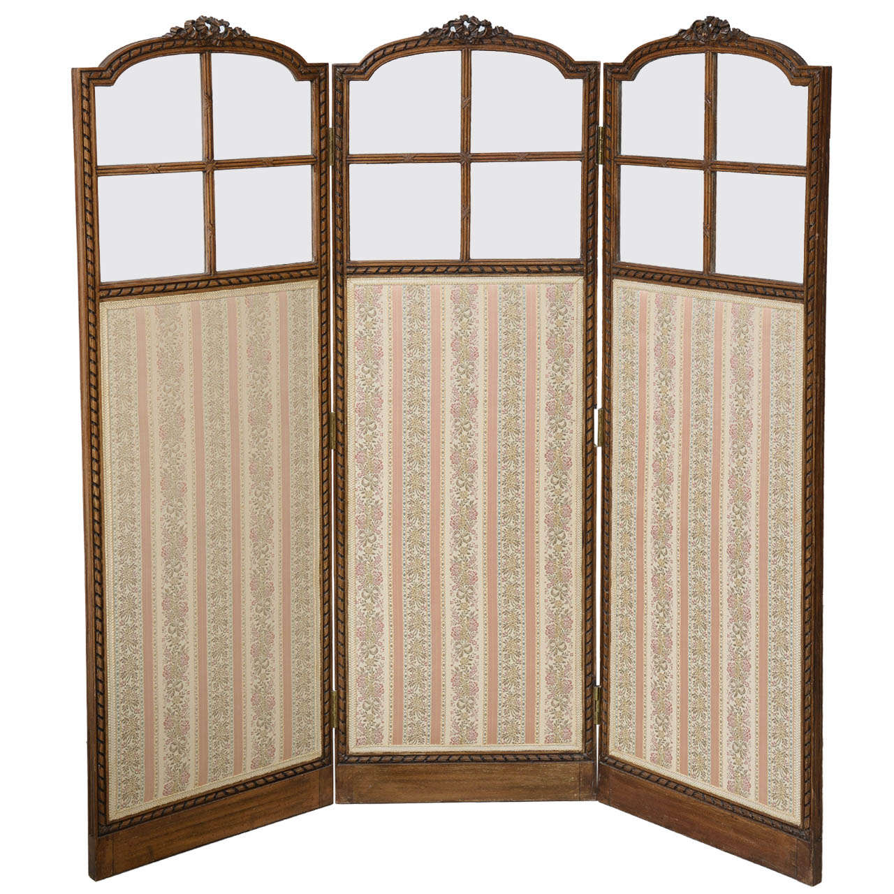 French Folding Screens : French hand carved folding screen th century at stdibs