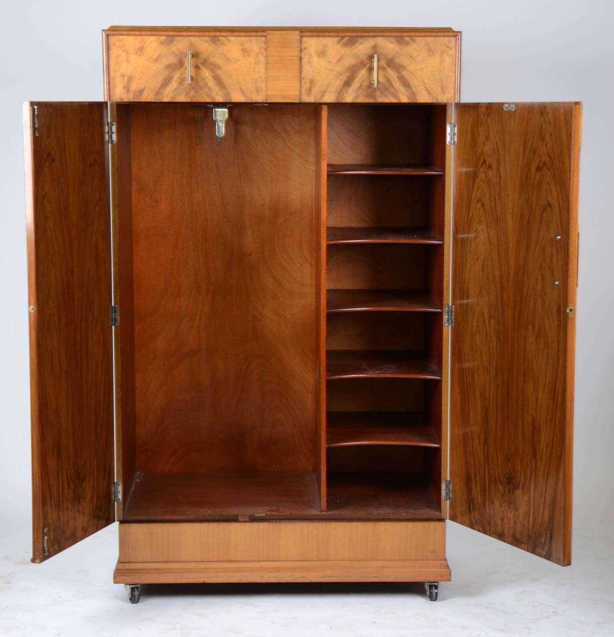 Art Nouveau Walnut 3 Piece Bedroom Suite: Art Deco Three Piece Bedroom Suite At 1stdibs