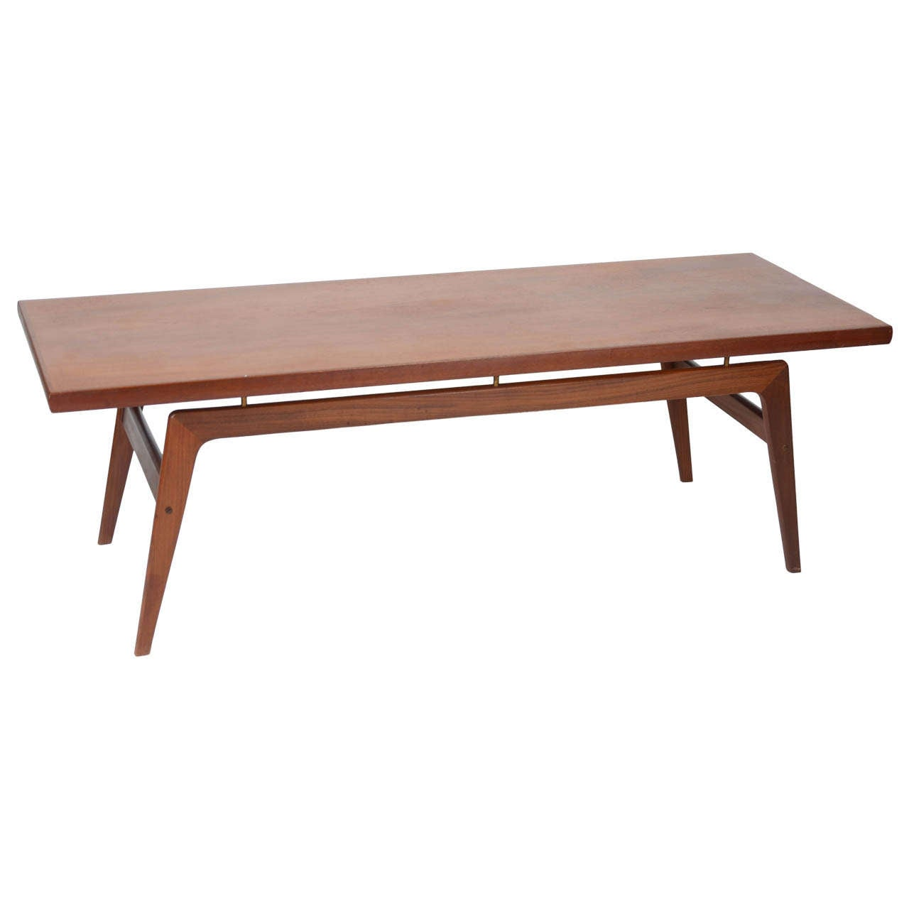 Danish Teak Coffee Table At 1stdibs