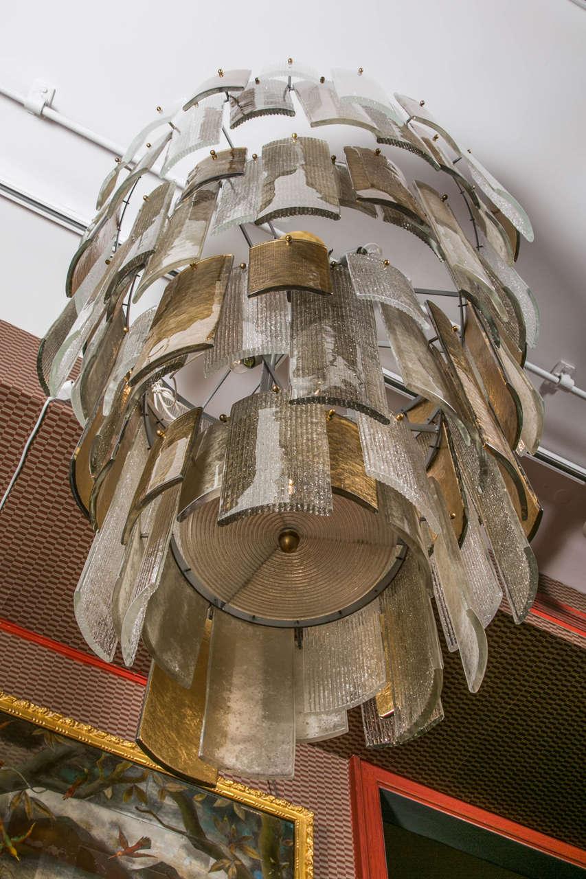 Murano Glass Chandelier At 1stdibs