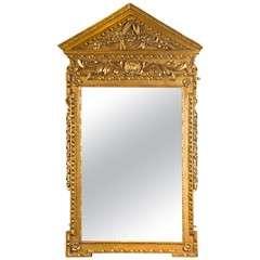 George II Giltwood Mirror
