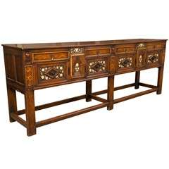English Arts and Crafts Period Sideboard