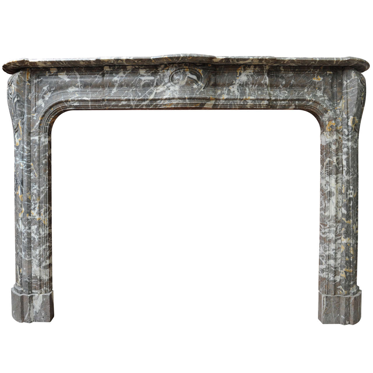 An early 18th c dutch baroque gris marble fireplace mantel piece for sale at 1stdibs - Fireplace mantel piece ...
