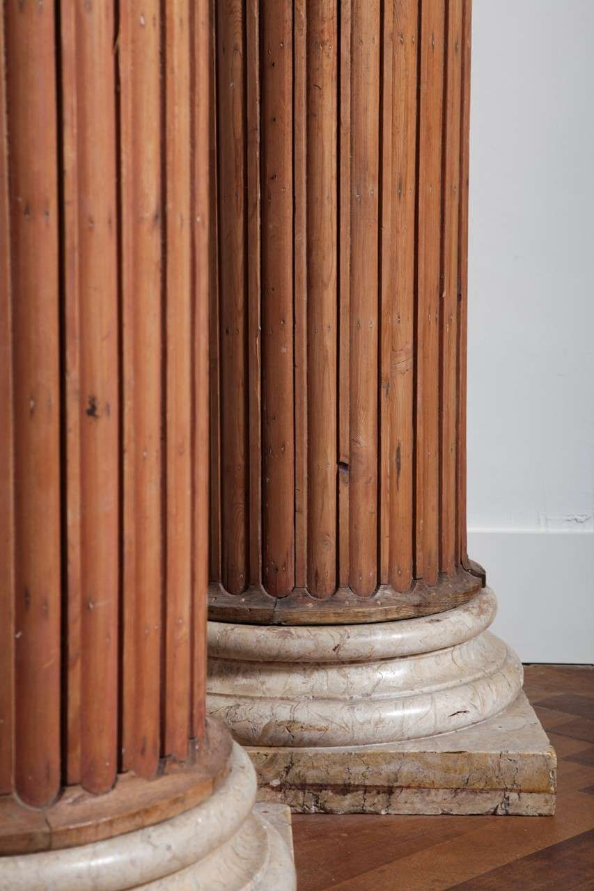 Four by Neoclassicism inspired columns 4