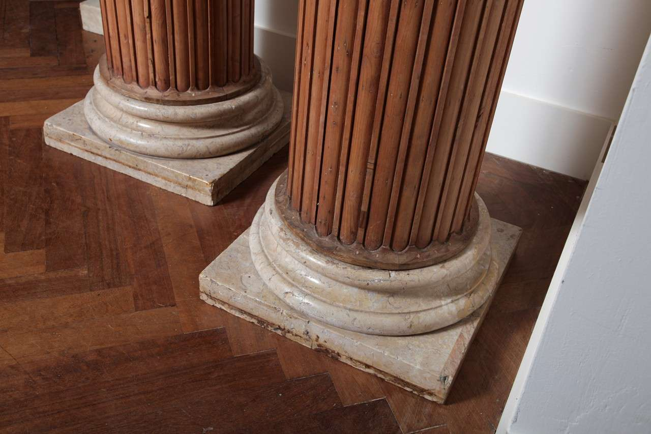 Four by Neoclassicism inspired columns 10
