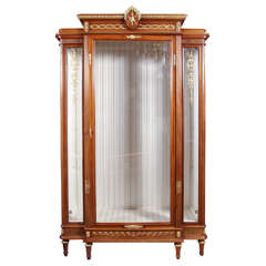 19th c Vitrine by Francois Linke