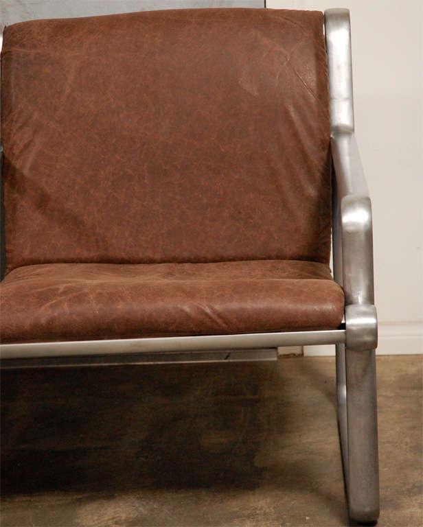 Hanna Morrison 3 Seat Airport Sling Sofa 3