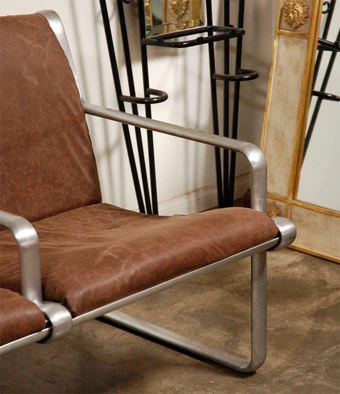 Hanna Morrison 3 Seat Airport Sling Sofa 4