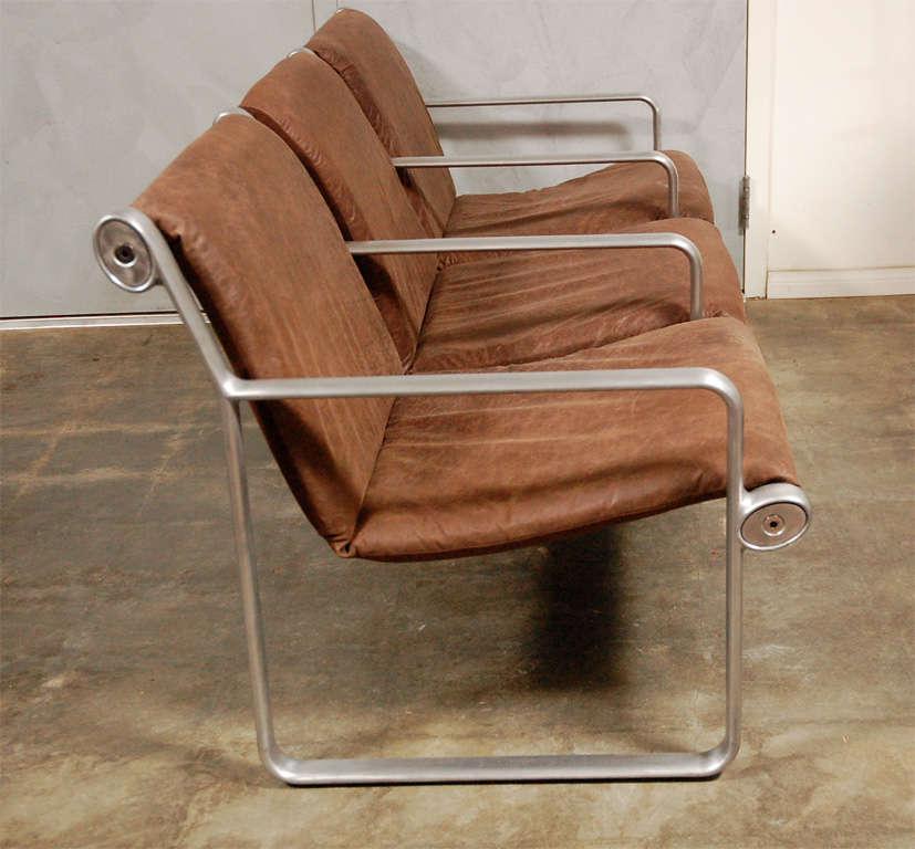 Hanna Morrison 3 Seat Airport Sling Sofa 8