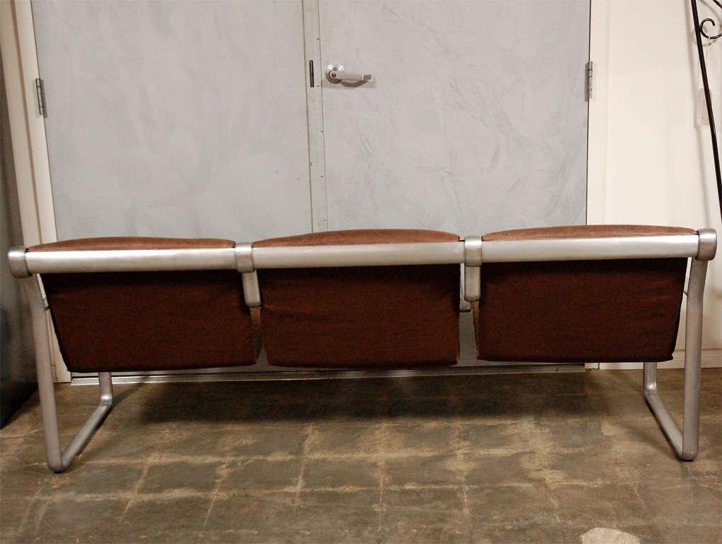 Hanna Morrison 3 Seat Airport Sling Sofa 10