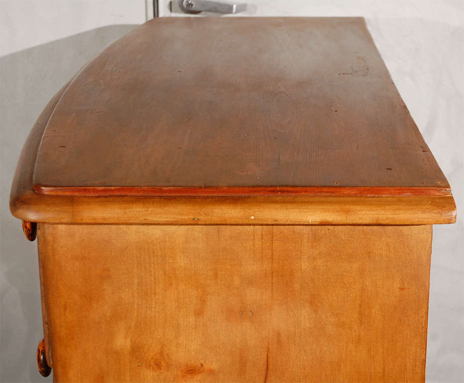 Antique Bowfront Chest of Drawers 7