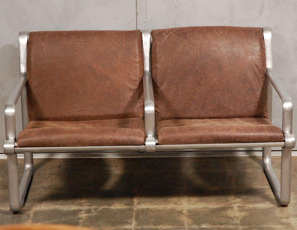 Hanna Morrison 2 Seat Airport Sling Sofa 2