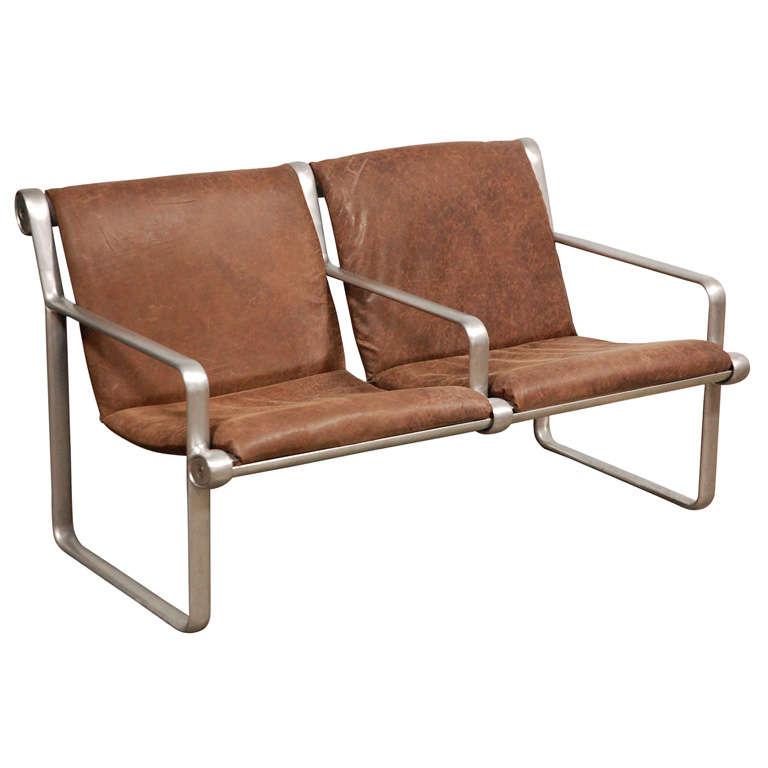 Hanna Morrison 2 Seat Airport Sling Sofa 1