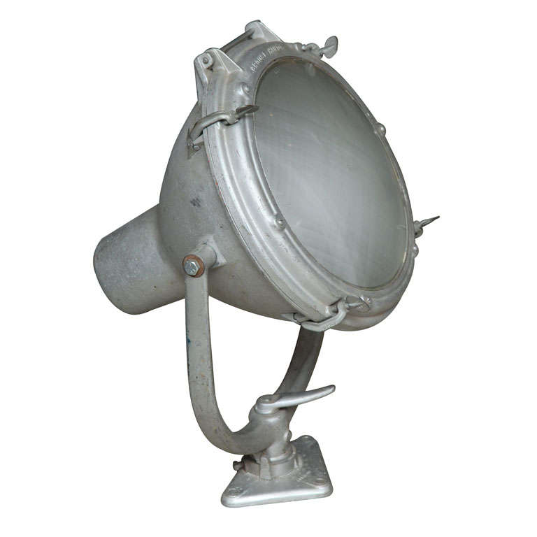 Vintage Nautical Spot Light By Crouse Hinds At 1stdibs