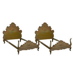 Pair of 18th-19th Century Venetian Style Twin Beds