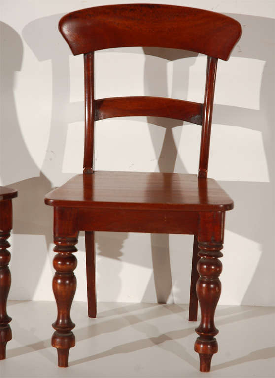19th Century Salesman Sample Miniature Chairs 2