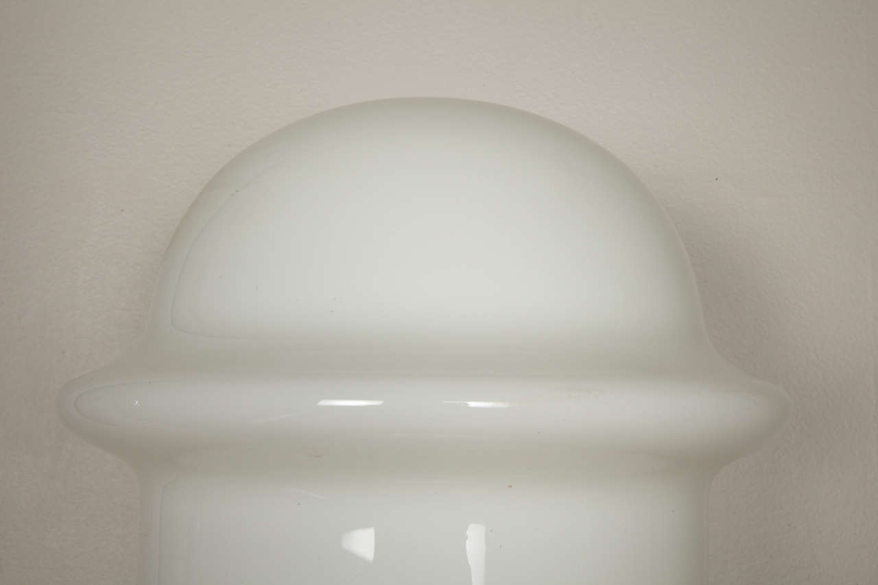 Huge Pair of 1970s Murano Glass Lamp by Mazzega In Excellent Condition For Sale In New York, NY